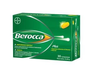 Bayer Berocca Plus Integratore Alimentare Vitamine e Minerali 30 Compresse
