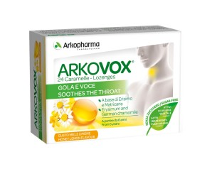Arkovox Miele/limone 24 Caramelle