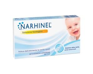 Narhinel  Pulizia Salute del Naso Soluzione Fisiologica 20 Flaconcini 5 ml