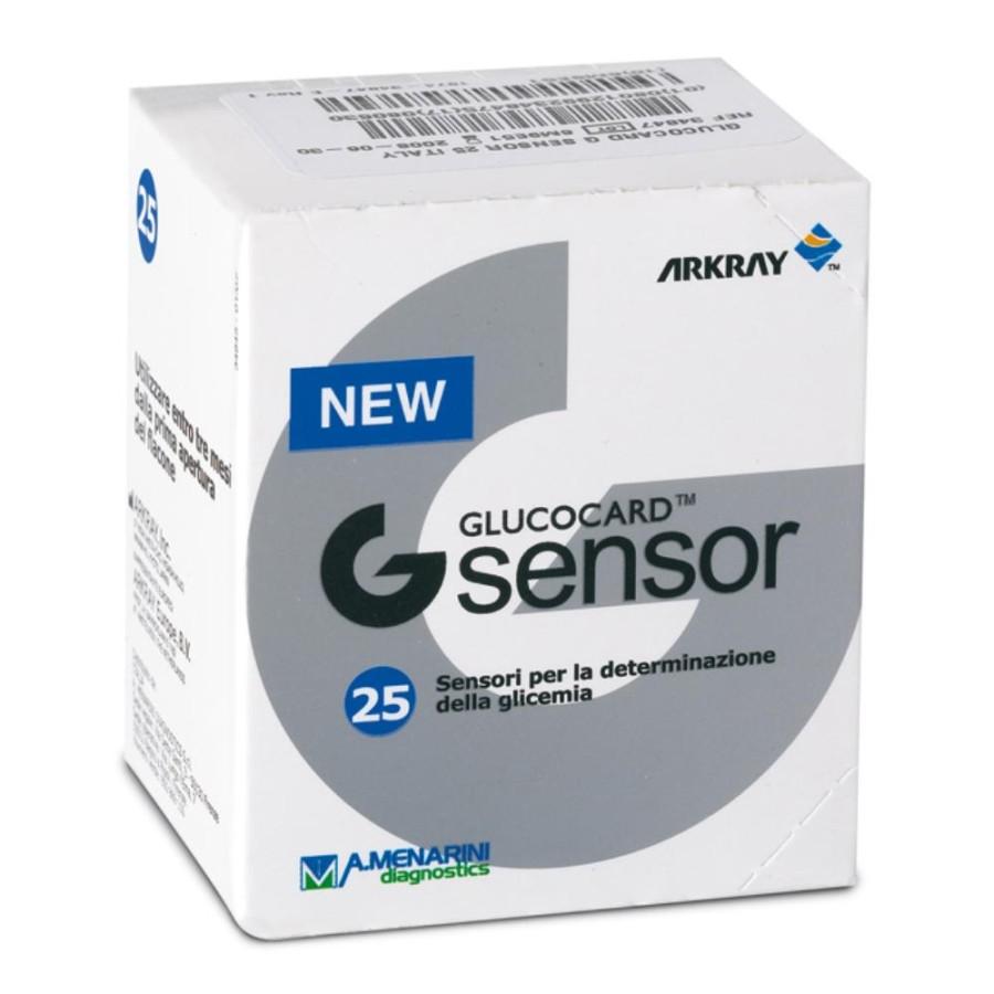 Menarini Diagnostics  G Sensor 25 Strisce Rilevatrici Glicemia