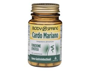 Body Spring Integratore Alimentare Cardo Mariano 50 Compresse