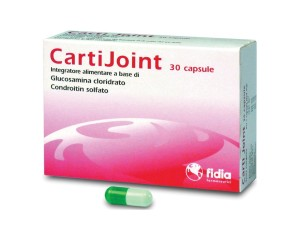 Fidia Carti Joint Integratore Alimentare CartiJoint 30 Capsule