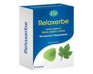 Esi  Sonno e Relax Relaxerbe Integratore Alimentare Analcolico 30 Capsule