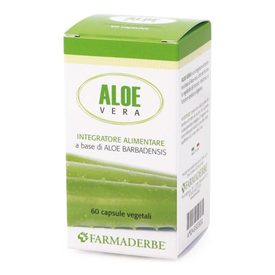 Farmaderbe Nutraloe Aloe Integratore Alimentare 60 Capsule Vegetali