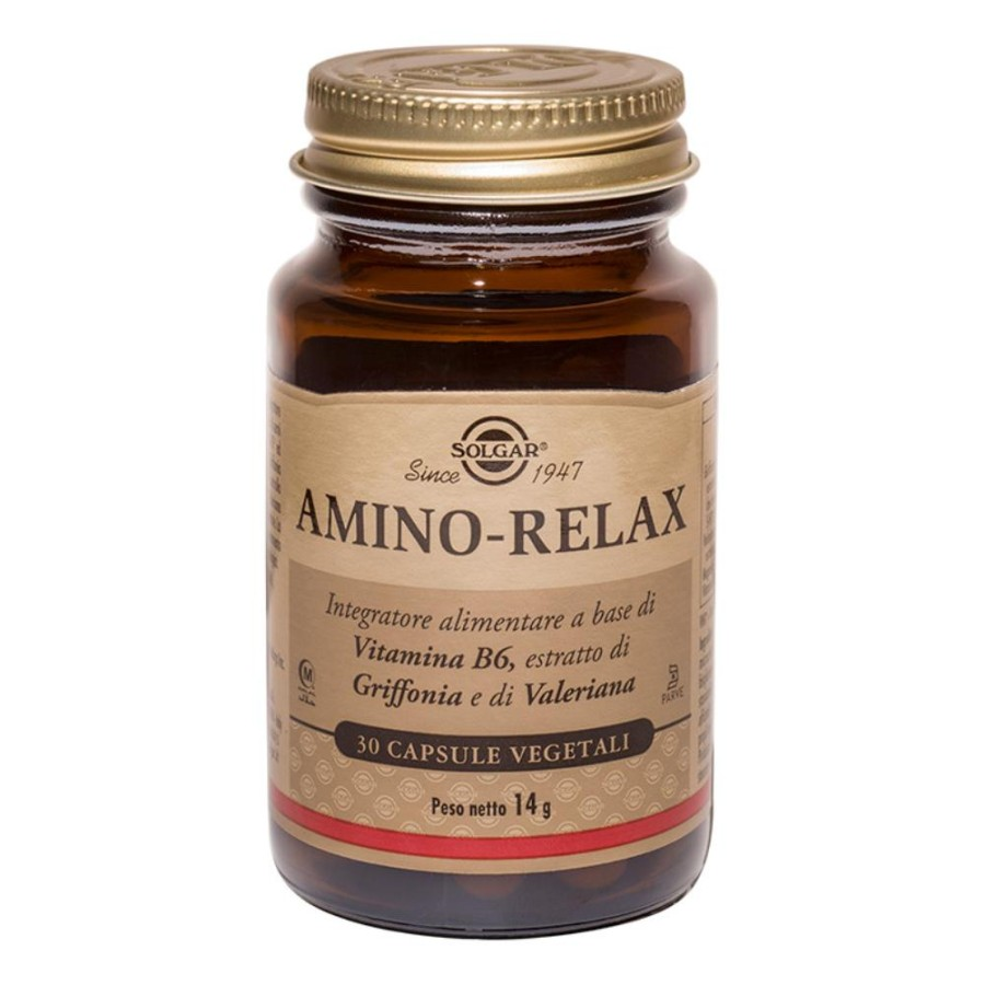 Solgar Amino Relax 30 Capsule Vegetali