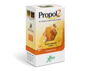 Aboca Propol2 EMF Adulti Integratore Alimentare 30 Tavolette Agrumi