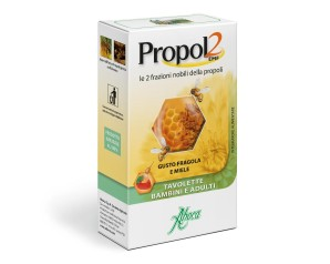 Aboca Propol2 EMF Bimbi Integratore Alimentare 45 Tavolette Fragola