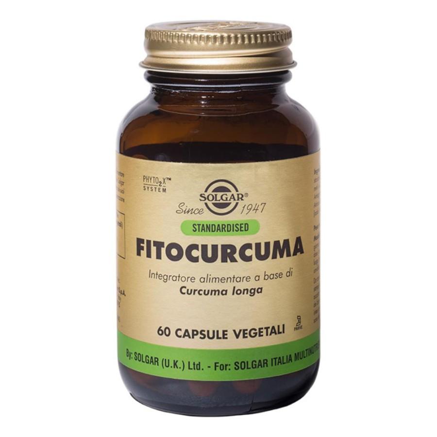 Solgar Fitocurcuma Integratore Alimentare 60 Capsule