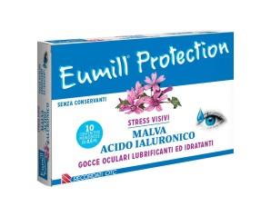 Eumill Protection Malva e Acido Ialuronico Gocce Oculari  10 Flaconcini Monodose