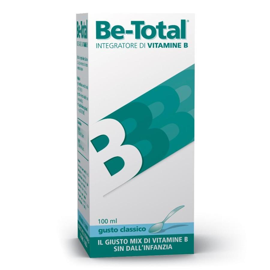 Be total Plus Sciroppo Bambini  Integratore Vitamine B Be-total Classico 100 ml