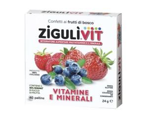 Falqui Zigulìvit Frutti Di Bosco Caramelle 24 g