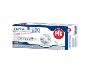 Artsana Pic Siringa Ultrafine 5 ml Ago 14 10 Pezzi