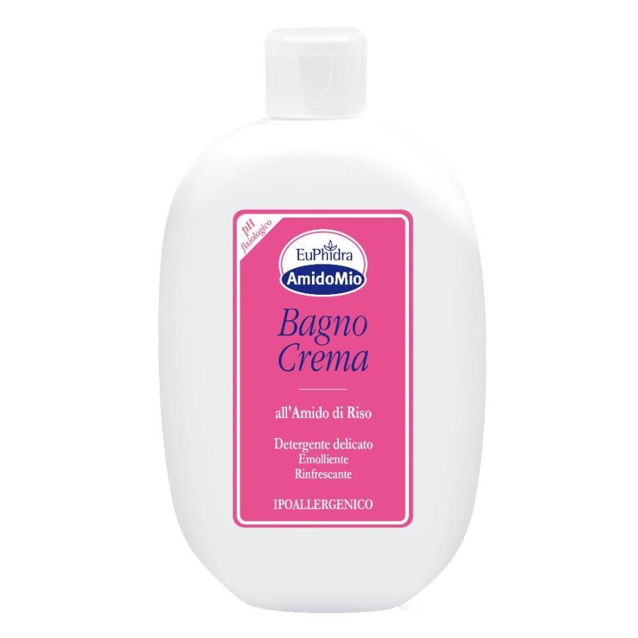 EuPhidra AmidoMio Bagno Crema Detergente Delicato Pelli Sensibili 400 ml