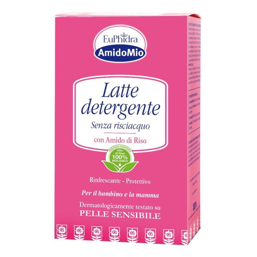 EuPhidra  AmidoMio Latte Detergente Idratante Pelli Sensibili 200 ml