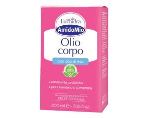 EuPhidra  AmidoMio Olio Corpo Emolliente Detergente Pelli Sensibili 200 ml