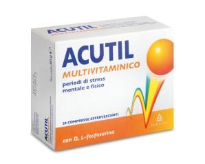 Acutil Multivitaminico Classic Integratore Alimentare 20 Compresse Effervescenti