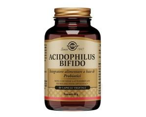 Solgar Acidophilus Bifido Integratore Alimentare 60 Capsule Vegetali