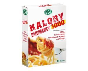 Esi  Controllo del Peso Kalory Emergency 1000 Integratore 24 Ovalette