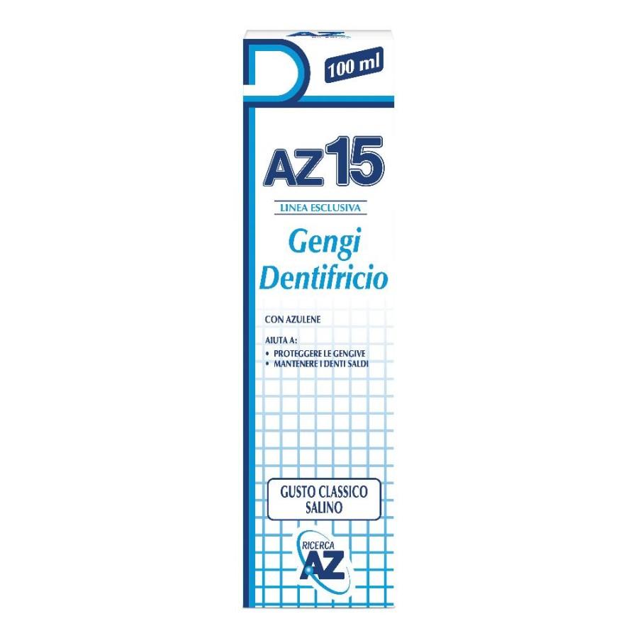 AZ 15 Gengi Dentrificio Protezione Gengive Classico 100 ml