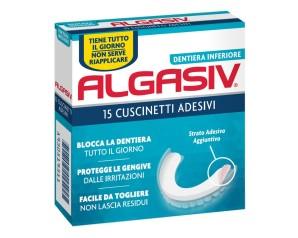 Combe  Protesi Dentali Algasiv 15 Cuscinetti Adesivi Protesi Inferiore