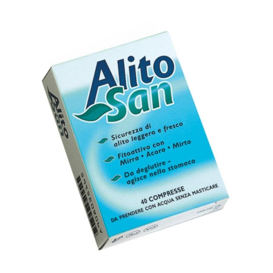 Alitosan 40 Tavolette 23,6g Integratore Alimentare