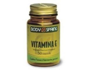 Body Spring Integratore Alimentare Vitamina E 50 Capsule