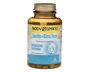 Body Spring Integratore Alimentare Lievito di Birra Puro 250 Compresse