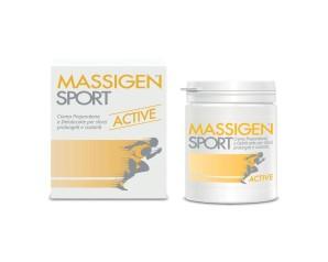 Massigen  Sport Active Crema Preparatoria Attività Sportiva 100 ml