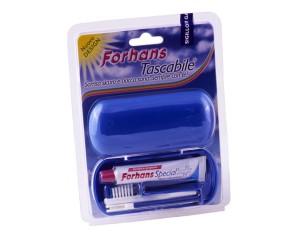 Forhans Spazzolino + Dentifricio Travel Kit