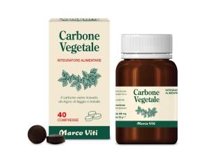 Marco Viti  Intestino Sano Carbone Vegetale Integratore 40 Compresse