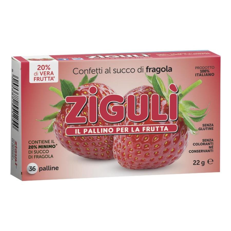 Falqui Ziguli Fragola Caramelle 22 g