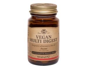 Solgar  Digestione Sana Vegan Multi Digest Integratore 50 Tavolette Mastic