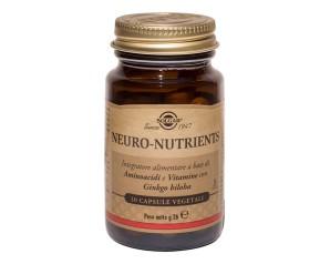 Solgar  Mente Sana e Tonica Neuro-Nutrients Integratore 30 Capsule