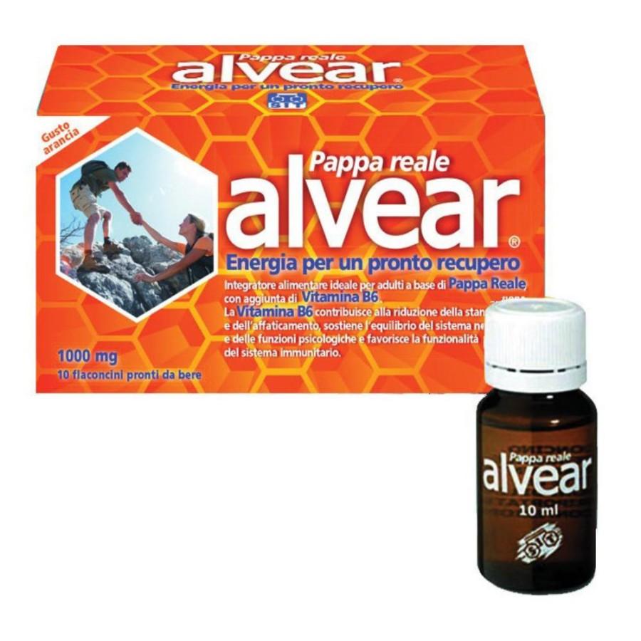 Sit Laboratorio Alvear 1000 mg Pappa Reale 10 flaconcini