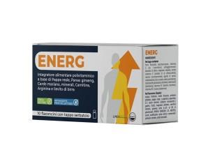 Agips Farmaceutici Energ 10 Flaconcini Uso Orale