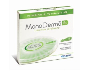 MonoDermà  Vitamine E5 Trattamento Gel Lenitivo Anti-Ossidante 28 Ampolle