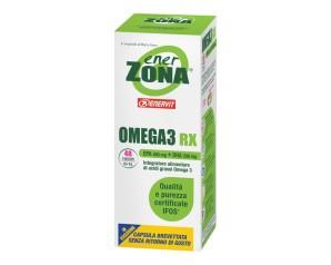 Enerzona  Integratori Omega3 Rx Acidi Grassi EPA DHA 48 Capsule da 1 g