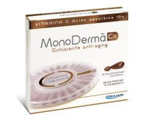 MonoDermà  Vitamine C10 Trattamento Gel Luminosità Anti-Macchie 28 Ampolle