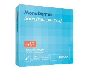 MonoDermà A15 Trattamento Esfoliante Anti-Rughe 28 Ampolle  Vitamine