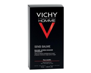 Vichy Homme Sensi Baume Balsamo Idratante Rigenerante Viso Uomo 75 ml
