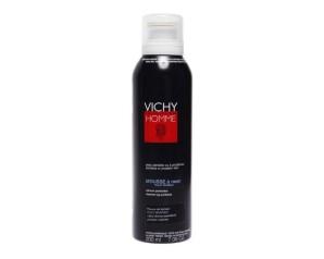 Vichy Homme Mousse Schiuma da Barba Anti-Irritazioni Uomo 200 ml