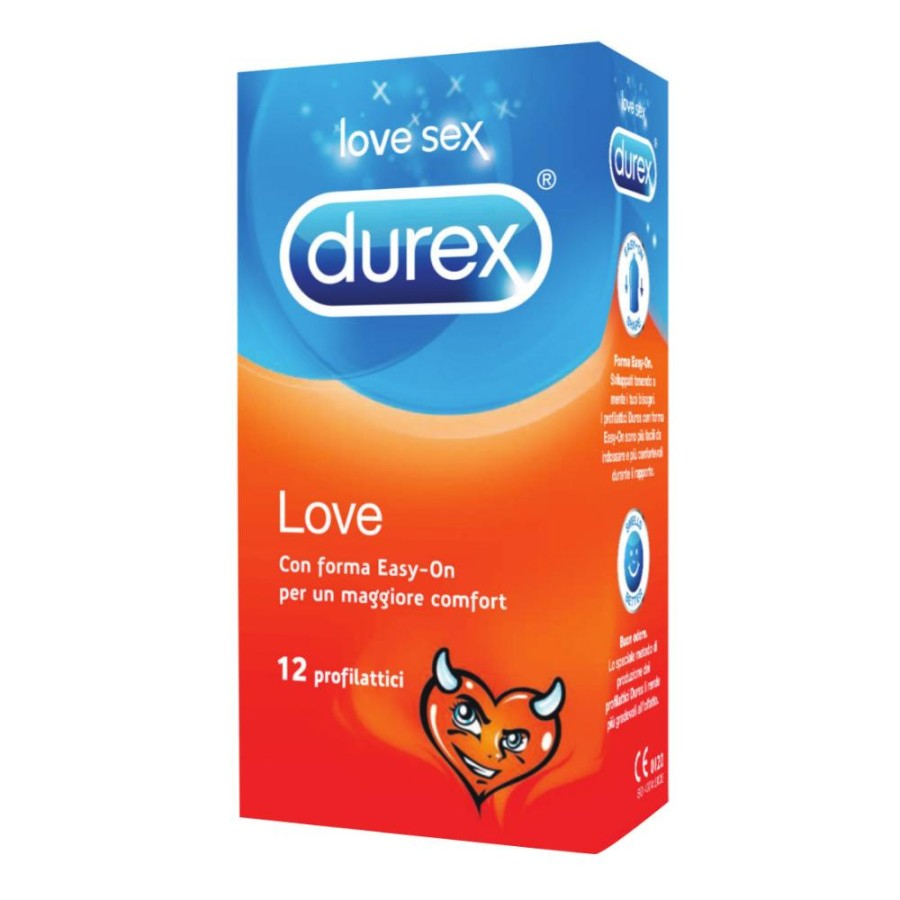 Durex Love Easy On Condoms   12 Profilattici