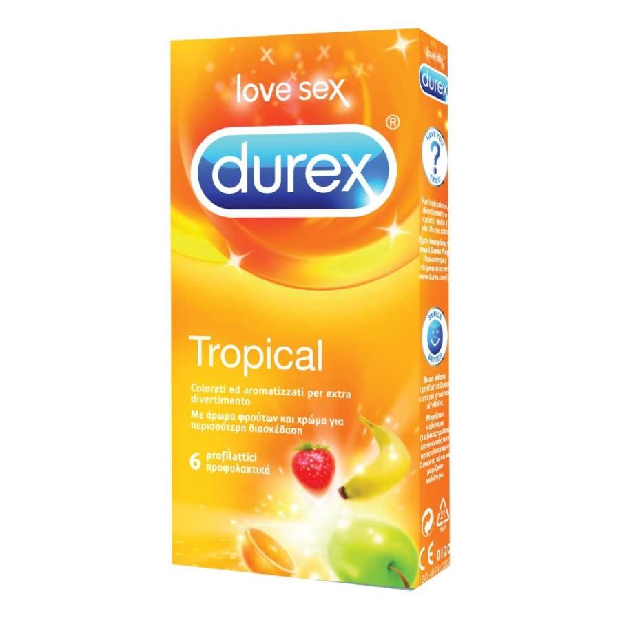 Durex Tropical Easy On 6 Pezzi