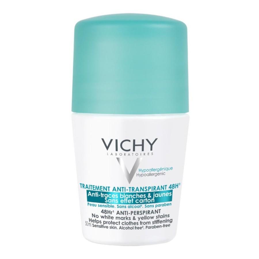 Vichy Deodorante Roll-on con Sali Di Alluminio Anti-Traspirante 50 ml