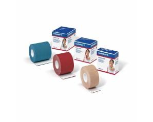 BSN Medical  Medicazioni Leukotape K Nastro Adesivo 2,5cm x 5m Rosso