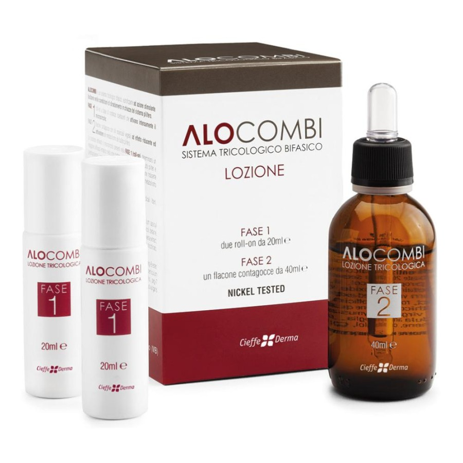 Cieffe Derma Alocombi Lozione 2 Roll-On Da 20 ml + Flacone 40 ml