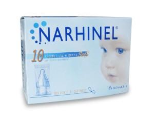 Narhinel 10 Ricambi Soft per Aspiratore Nasale
