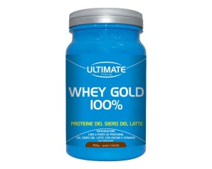 Ultimate Italia Whey Gold 100% Proteine Gusto Cacao 750 g