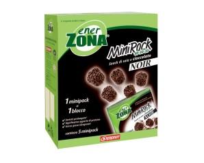 EnerZona  Alimentazione Dieta a ZONA 5 Minirock Cioccolato Fondente40-30-30