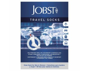 JOBST TRAVEL Socks Nero XL